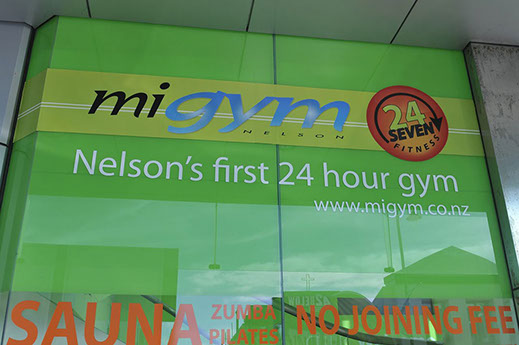 Advertising signage designed by Bellamy Signs of Nelson