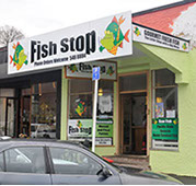 Shopfront signage by Bellamy Graphic Signs of Nelson, NZ