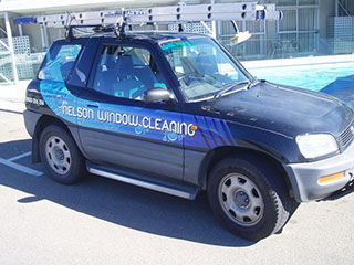 Vehicle signwriting and liverying by Bellamy Graphic Signs of Nelson, NZ